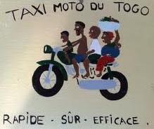taxi moto de togo